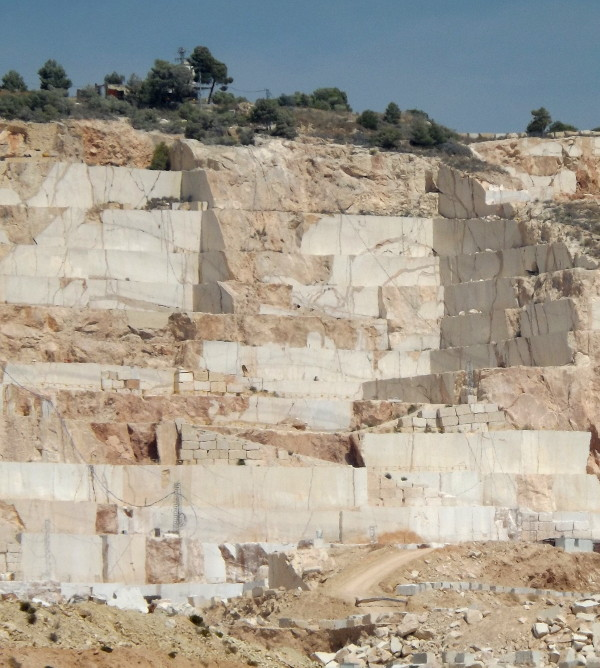 marble quarries